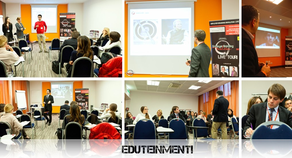 Employer Branding Eduteinment - Educational Courses and Workshops