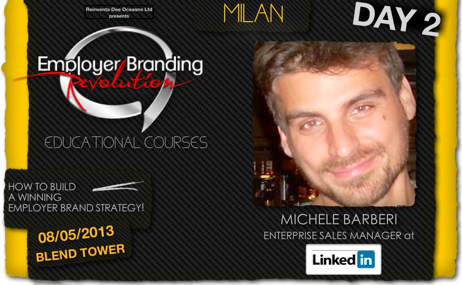 Michele Barberi - Linkedin -Employer Branding Revolution
