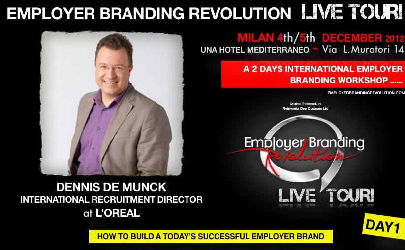 Dennis De Munck Employer Branding Revolution